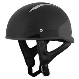 Speed & Strength SS310 Solid Speed Half Helmet Black