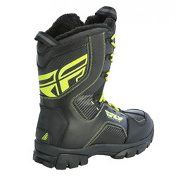 Fly Racing Mens Marker Thermal Insulated Snowmobile Riding Boots Black