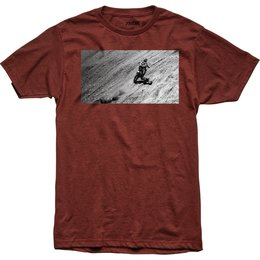Thor Mens Induction Premium Fit T-Shirt Red