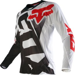 Fox Racing Mens 360 Shiv Airline Vented Jersey Black