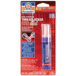 PERMATEX GEL TWIST THREAD LOCKER RED HIGH STRENGTH