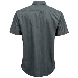 Fly Racing Mens Button-Up Short Sleeve Woven Shirt Black