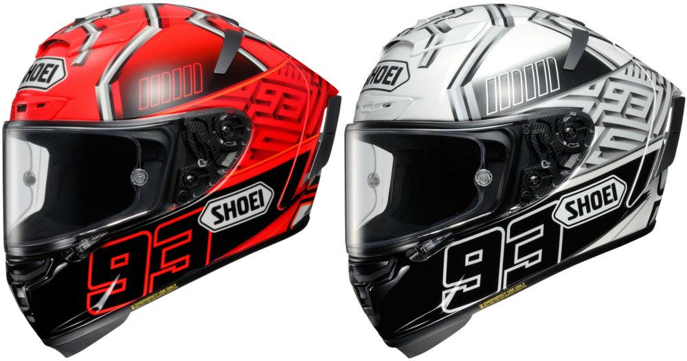 Full Face Cruiser Helmets >> $889.99 Shoei X-Fourteen X14 X-14 Marc Marquez 4 Replica ...