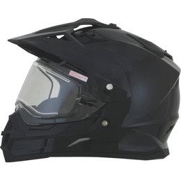 AFX FX39 Solid Electronic DS Dual Sport Helmet Black