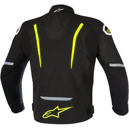 Alpinestars Mens T-Jaws Waterproof Armored Textile Riding Jacket Black