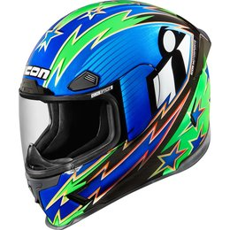 Icon Airframe Pro Warbird Full Face Helmet Blue