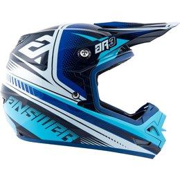 Answer Racing AR-3 AR3 Charge Helmet Blue