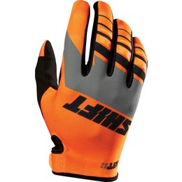 Shift Racing Mens Assault Gloves Orange