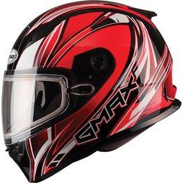 GMax FF49 Sektor Full Face Snow Helmet With Dual Pane Shield Red