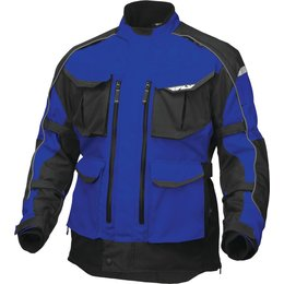 Fly Racing Mens Terra Trek 4 Textile Jacket Blue