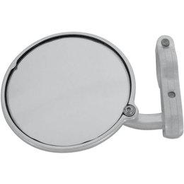 CRG Hindsight Left Side 3 Inch Round Bar-End Mirror Each Silver