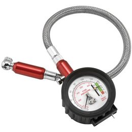 N/a Bikemaster 2 In 1 Tire Gauge 0-61 Psi Universal