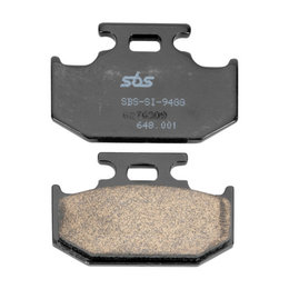 SBS Off Road SI Sintered Rear Brake Pads Single Set Only Suzuki Yamaha 648SI Unpainted