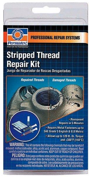 13 95 Permatex Stripped Thread Repair Kit 728803