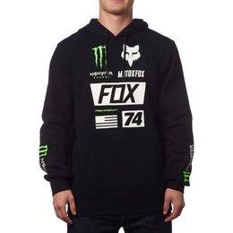 Fox Racing Mens Monster Union Pullover Hoody Black