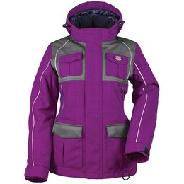 Diva Womens Arctic Appeal Snow Jacket Purple