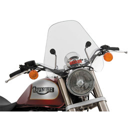 Slipstreamer 15 Inch Spitfire Windshield Clear For Harley Honda 5-06-CHR-C Transparent