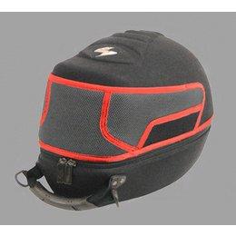 Black / Red Scorpion Exo Helmet Racecase Dirt Snowcross Black Red
