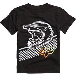 Fox Racing Kids Boys Olathe T-Shirt Black