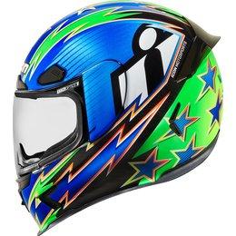 Icon Airframe Pro Warbird Full Face Helmet Blue