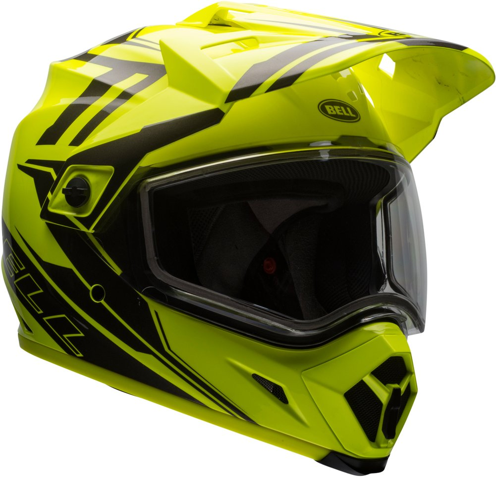 bell powersports mx 9 adventure dual shield snowmobile helmet. Black Bedroom Furniture Sets. Home Design Ideas