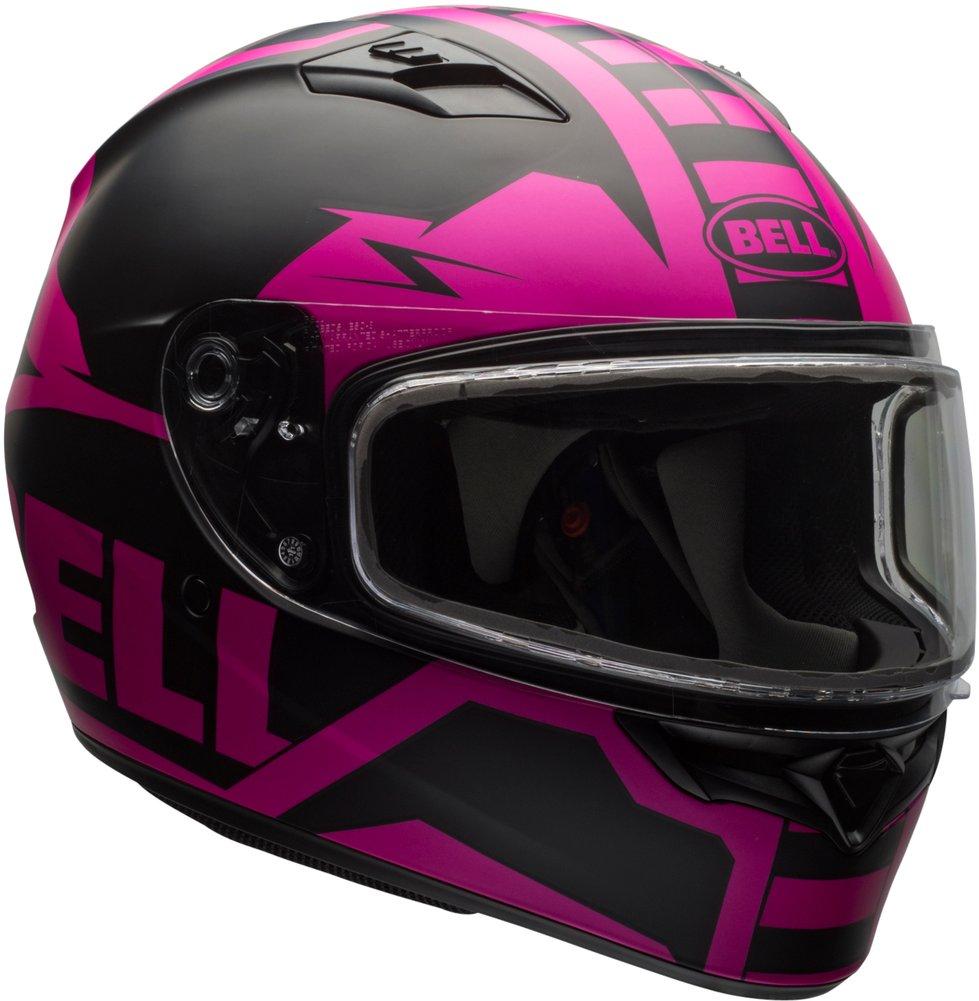 Bell Dual Sport Helmet >> Bell Powersports Womens Qualifier Dual Shield Snowmobile Helmet | eBay