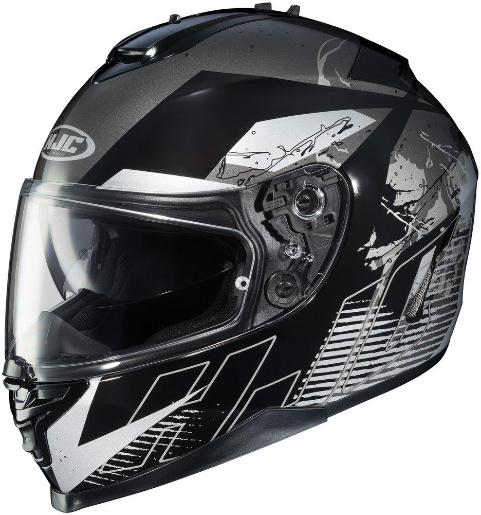 hjc is 17 blur full face motorcycle helmet with pinlock. Black Bedroom Furniture Sets. Home Design Ideas