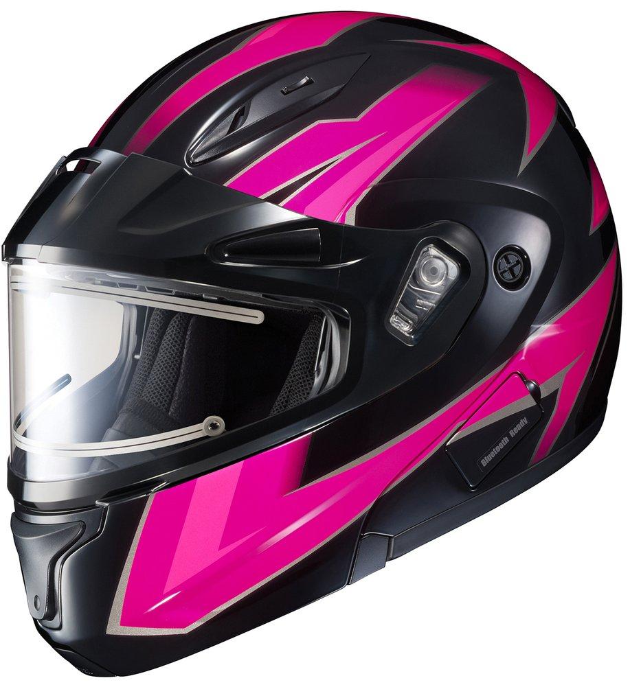 Modular snowmobile helmets
