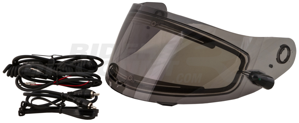 Hook up heated shield snowmobile