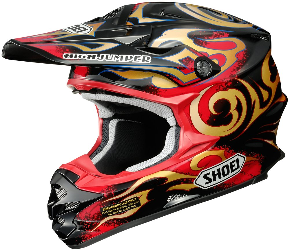 shoei vfx w taka dot approved motocross mx helmet ebay. Black Bedroom Furniture Sets. Home Design Ideas
