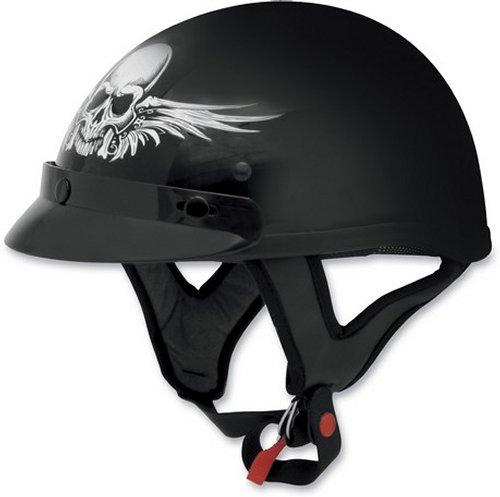 AFX FX-70 FX70 Skull Half Helmet | eBay