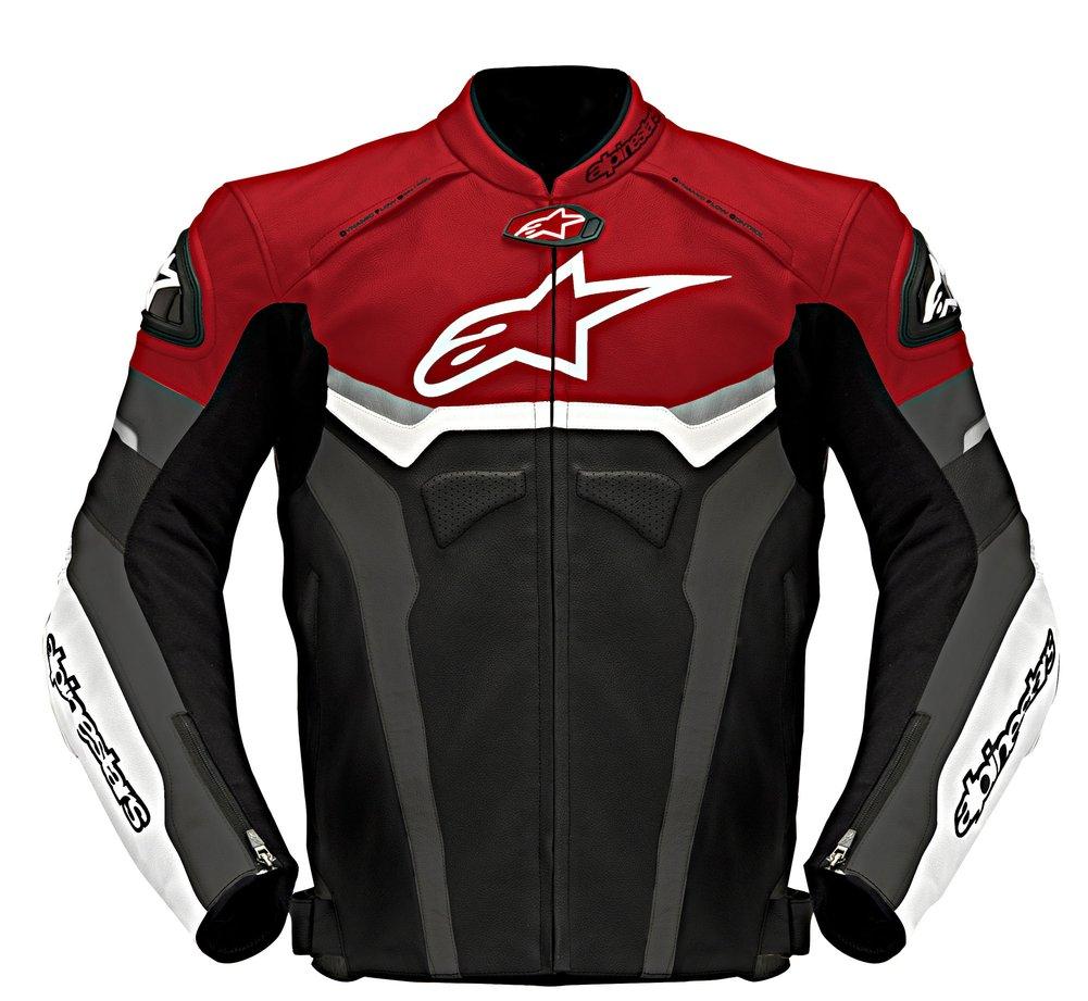 Alpinestars Jacket Leather >> Alpinestars Mens Celer Leather Jacket Original Style | eBay