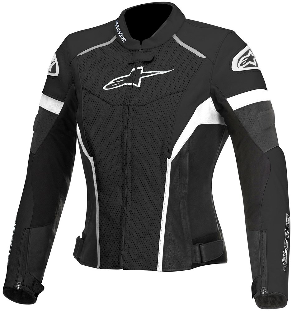 Alpine Motorcycle Gear >> Alpinestars Womens Stella GP Plus R Perforated Armored Leather Jacket | eBay