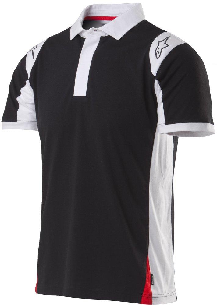 Alpinestars mens spielberg regular fit short sleeve three for 3 button polo shirts