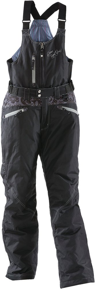 Divas womens lace collection insulated waterproof bib snow - Diva pants ebay ...