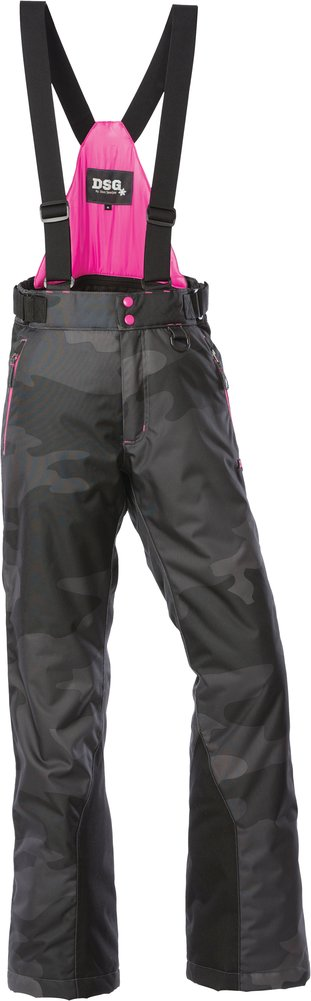 Divas womens craze insulated bib snowmobile pants ebay - Diva pants ebay ...