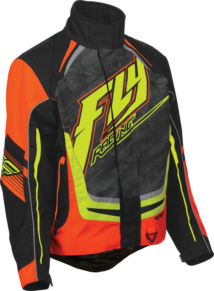 Fly Racing Youth Boys SNX Pro Snowmobile Jacket With