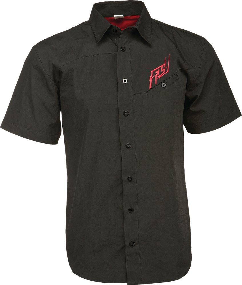 Fly racing mens button up woven shirt 2015 ebay for Guys button up shirts