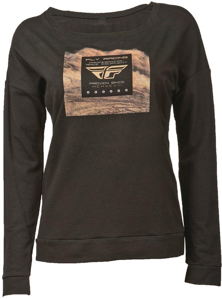 Fly Racing Womens Loam Wide Neck Long Sleeve T Shirt 2015