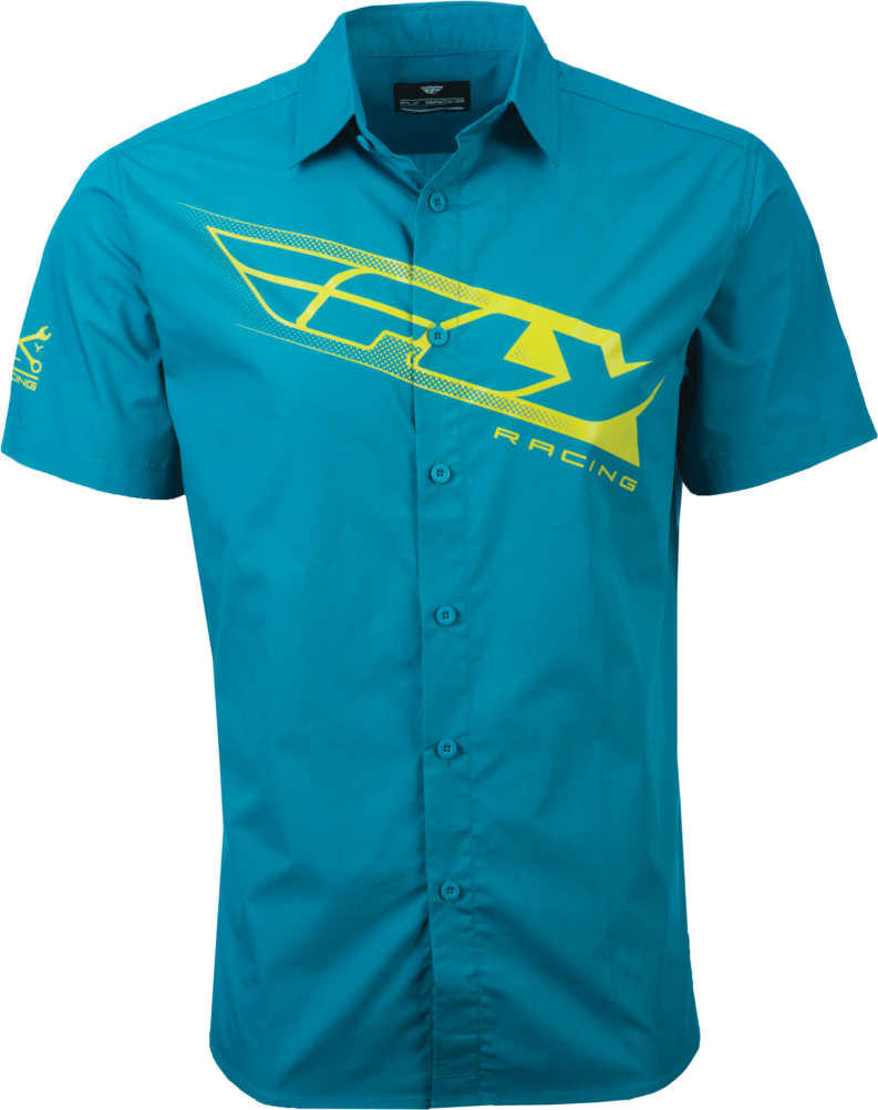 Fly Racing Mens Pit Button Up Casual Dress Shirt Ebay