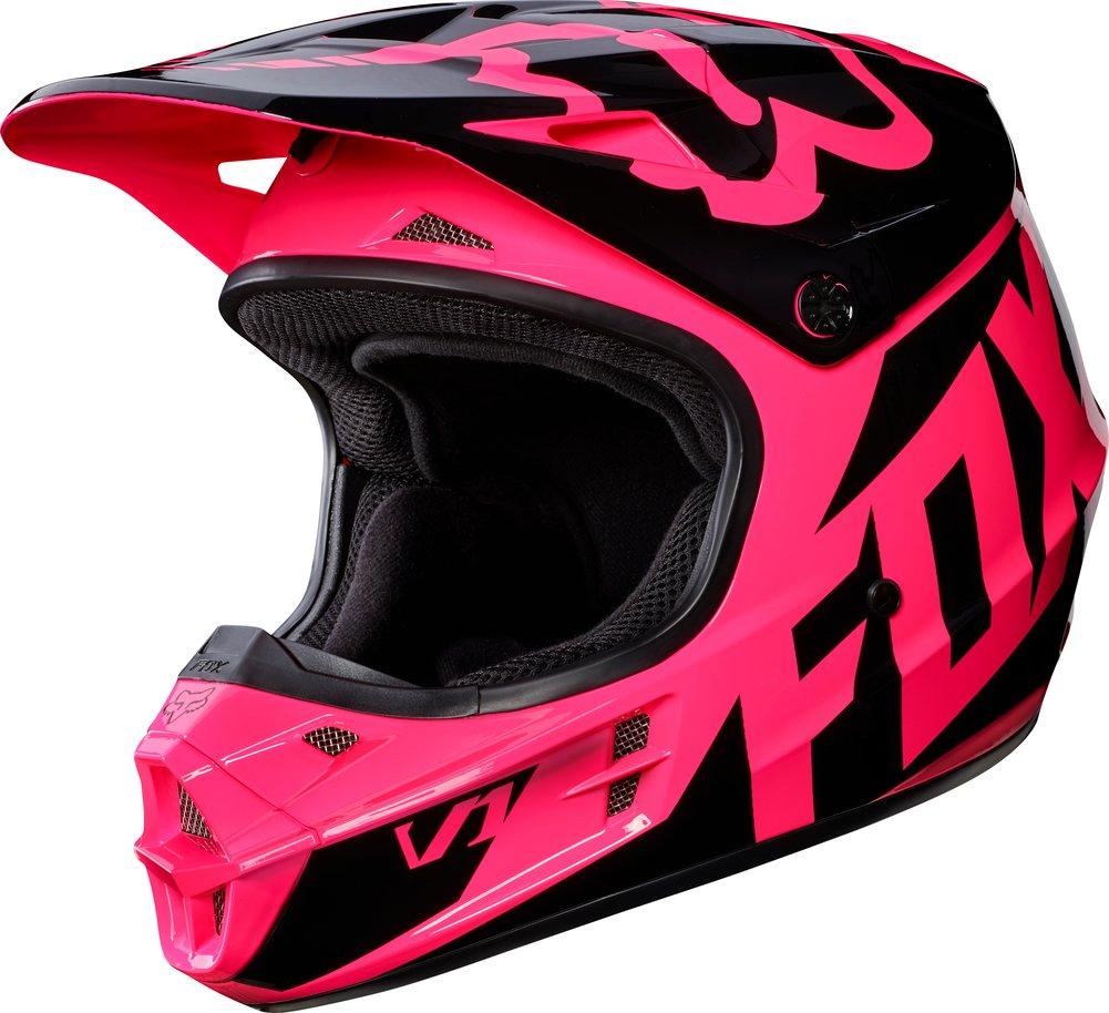 fox racing womens v1 race dot approved motocross mx helmet. Black Bedroom Furniture Sets. Home Design Ideas