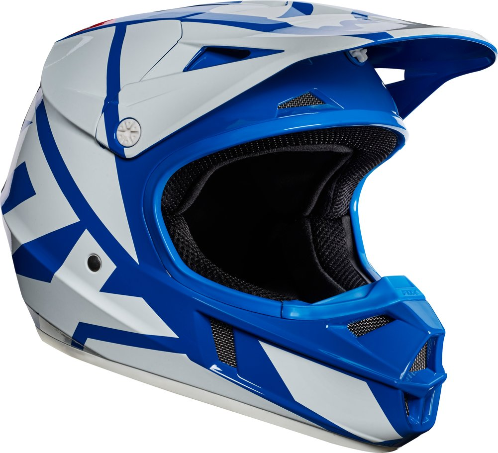 fox racing youth v1 race mx motocross helmet original. Black Bedroom Furniture Sets. Home Design Ideas