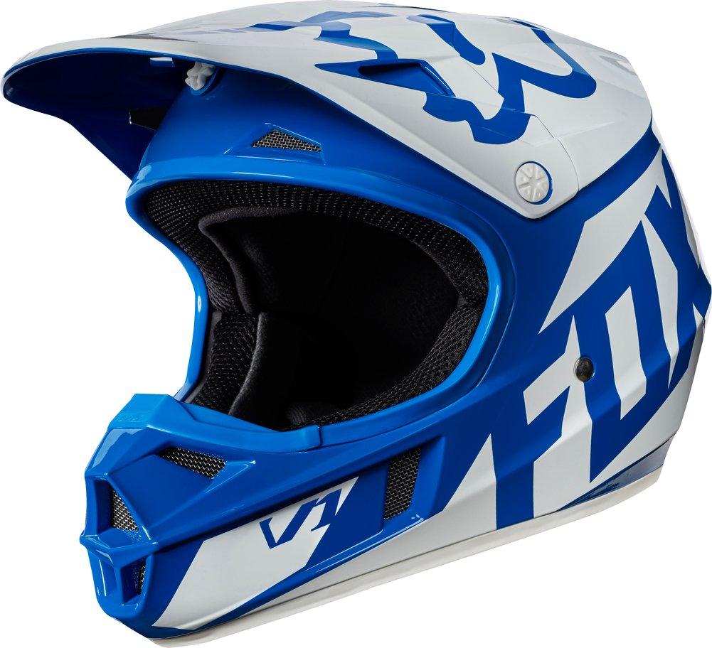 Fox Racing Youth V1 Race Mx Motocross Helmet Ebay