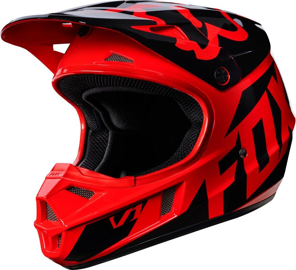 fox racing youth v1 race mx motocross helmet ebay. Black Bedroom Furniture Sets. Home Design Ideas