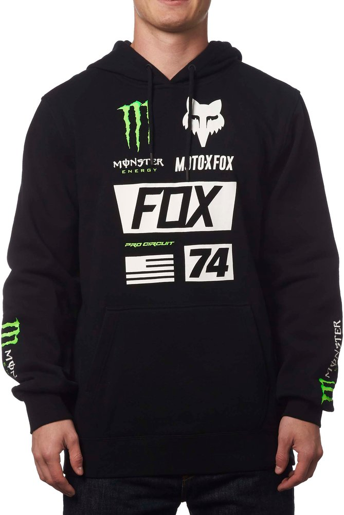 fox racing mens monster energy union pullover motocross. Black Bedroom Furniture Sets. Home Design Ideas
