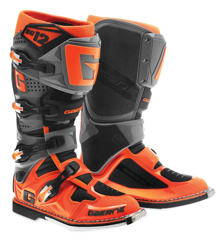 Gaerne Boots Sg12 >> Gaerne Mens SG-12 MX Motocross Off-Road Boots | eBay