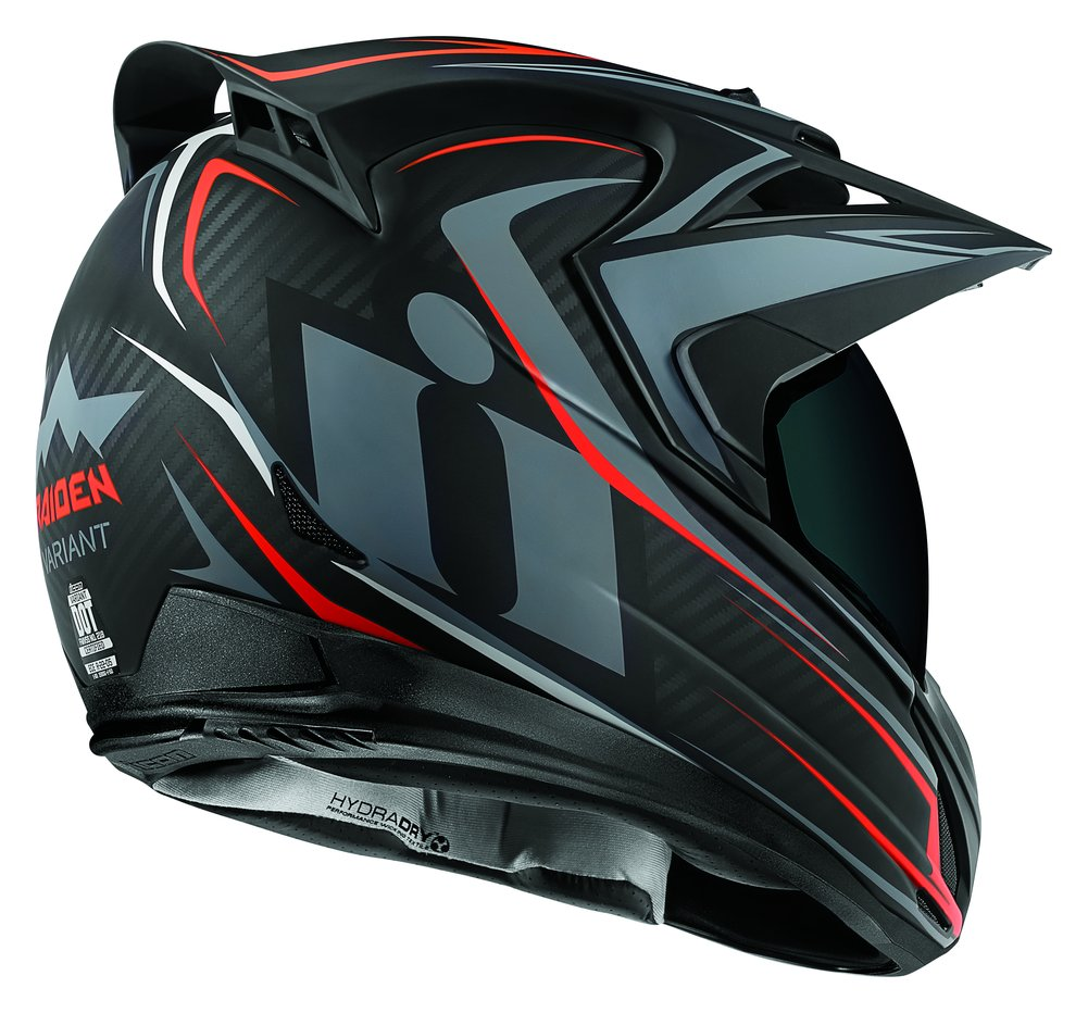 Icon Variant Raiden Dual Sport Full Face Motorcycle Helmet with Anti-Lift Visor