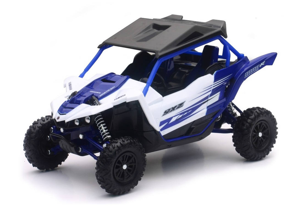 new ray toys 1 18 scale yamaha yxz1000r atv toy blue. Black Bedroom Furniture Sets. Home Design Ideas