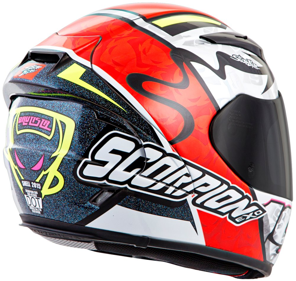scorpion exo r2000 exor2000 bautista full face helmet ebay. Black Bedroom Furniture Sets. Home Design Ideas