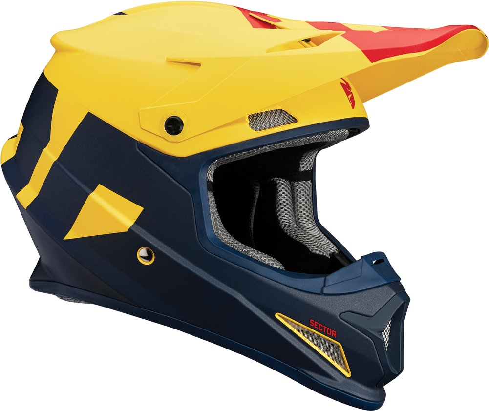 Thor Sector Level DOT Approved MX Motocross Riding Helmet ...